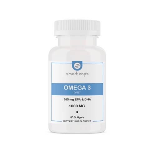 SMARTCAPS Omega 3 1000 mg 60 Softgel