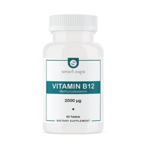 Smartcaps Vitamin B12 2000 µg / 60 Tablet