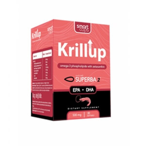 SMARTCAPS Krillup 500 mg 30 Softgel