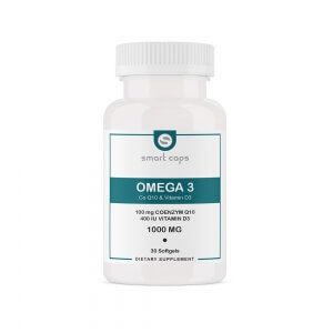 Omega 3, Vitamin D3, Q10 / 30 Softgel