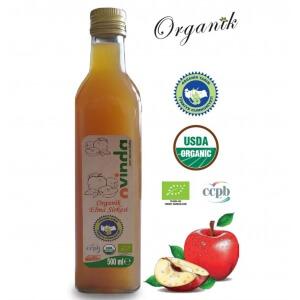 Organik Elma Sirkesi 500 ml
