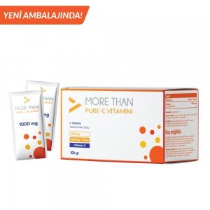 More Than Pure C 1000mg/Saşe C Vitamini (Ascorbic Acid)