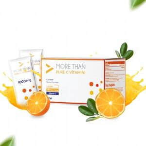 More Than Pure C 1000mg/Saşe C Vitamini (Ascorbic Acid)